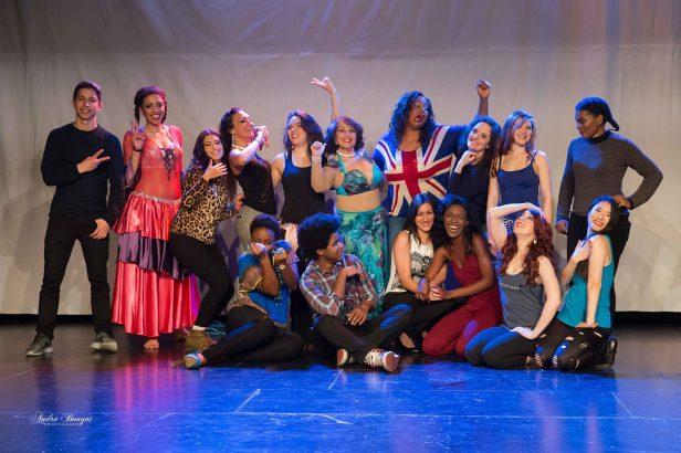 Le 2 avril 2016 : Spectacle « Les Mémoires de Bastet ». Avec les danseuses Faith Chang (USA/Paris), Elena Faye (USA), Hayal (Brésil/Lyon) et les danseuses françaises Ines Obambi, Maëva, Esma, Ann-Gaëlle, Yenaelle, Omani, Aimée, Ingrid et Angélique Provost.